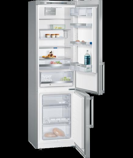 Kühl-Gefrier-Kombination Türen Edelstahl antiFingerPrint ...