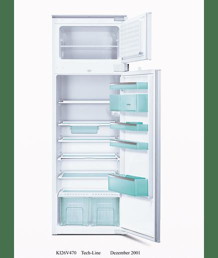 einbau k hl gefrier automat integrierbar mit schleppt rtechnik ki26v470 siemens. Black Bedroom Furniture Sets. Home Design Ideas