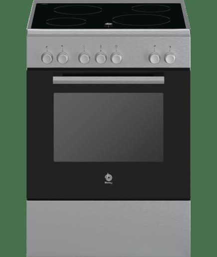 Cocina el ctrica gris metalizada 3cvx463bq balay - Cocina electrica media markt ...