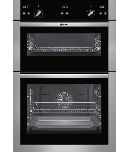 Double Oven Stainless Steel U15e52n5gb Neff