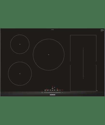 inductiekookplaat 80 cm iq500 ed875fwb1e siemens. Black Bedroom Furniture Sets. Home Design Ideas