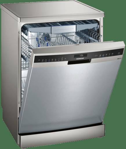 60 cm dishwasher freestanding silver inox iq500 sn258i10tm