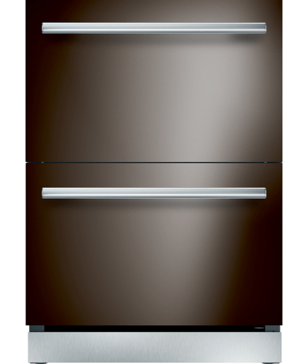 24 Inch Under Counter Double Drawer Refrigerator
