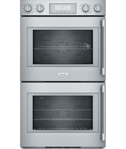 30 Inch Professional Double Wall Oven With Left Side