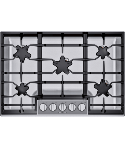 30 Inch Masterpiece Pedestal Star Burner Gas Cooktop Sgsp305ts Thermador