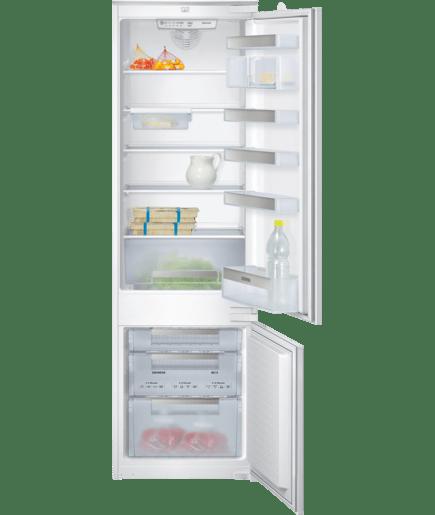 Built-in fridge freezer, bottom freezer