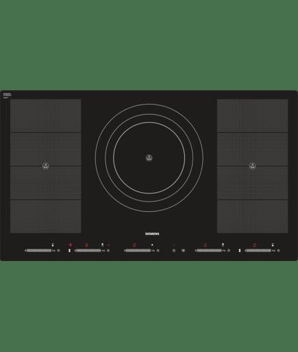 90 cm induktions kochstelle glaskeramik eh901sz11e siemens. Black Bedroom Furniture Sets. Home Design Ideas