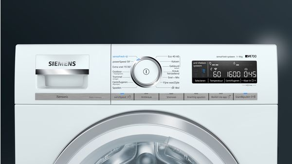iQ700 Wasmachine, voorlader 9 kg 1600 rpm WM6HXL90NL WM6HXL90NL-8