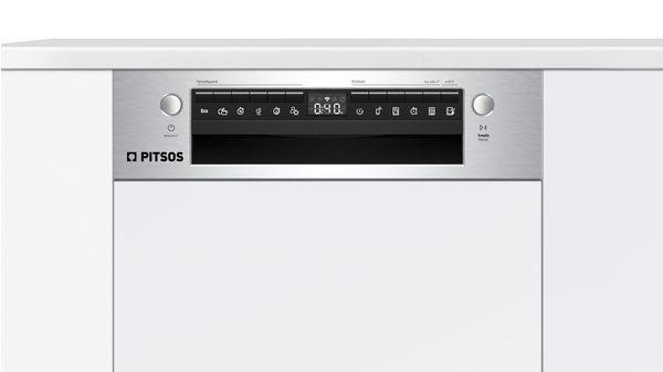 Εντοιχιζόμενο πλυντήριο πιάτων με εμφανή μετόπη 45 cm ανοξείδωτο ατσάλι DIS60I00 DIS60I00-4