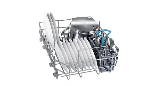 Εντοιχιζόμενο πλυντήριο πιάτων με εμφανή μετόπη 45 cm ανοξείδωτο ατσάλι DIS60I00 DIS60I00-6