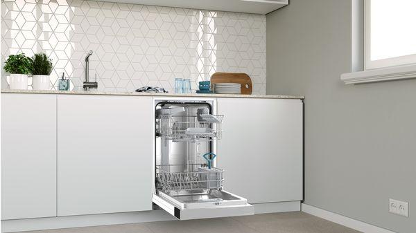 Εντοιχιζόμενο πλυντήριο πιάτων με εμφανή μετόπη 45 cm ανοξείδωτο ατσάλι DIS60I00 DIS60I00-3