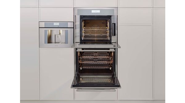 30 Inch Masterpiece Double Wall Oven With Left Side Opening Door