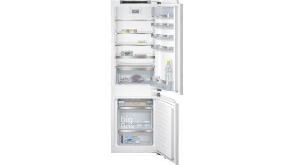 Siemens Kühlschrank Läuft Ständig : Einbau kühl gefrier kombination flachscharnier technik softeinzug