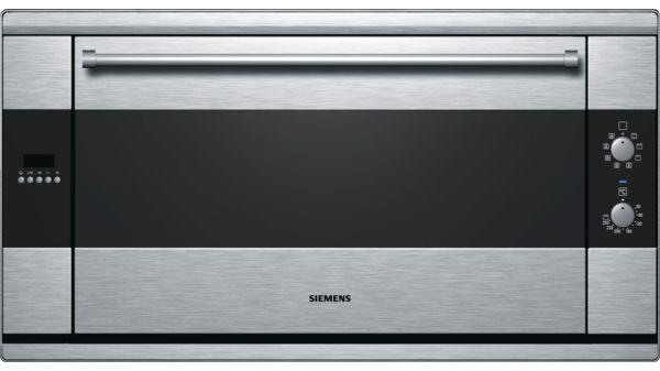 Imperial Küchenofen : 90 cm einbaubackofen hb933r51 siemens