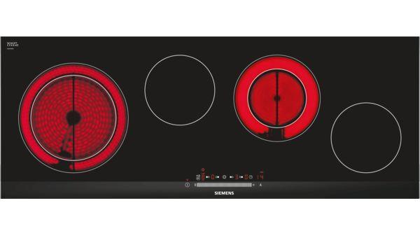 design de qualité b1ce9 0ca9b SIEMENS - ET975FG17E - Table de cuisson vitrocéramique - 90 cm