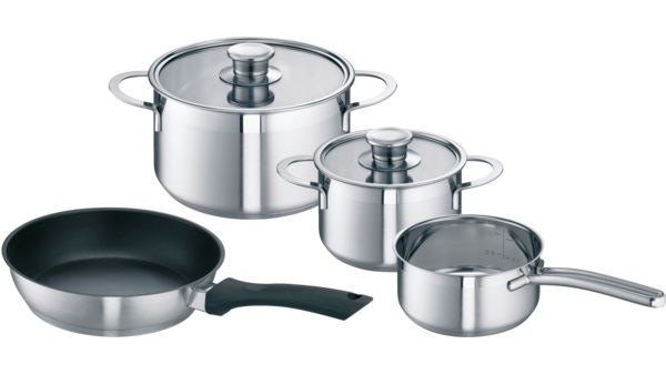 Saucepan Set For Induction Hobs