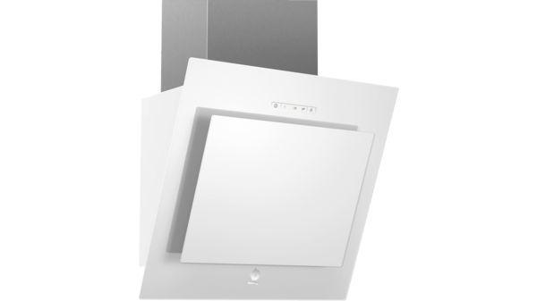 08af215fd86 Campana decorativa diseño inclinado Serie Cristal Cristal blanco ancho 55  cm EAN: 4242006232788 3BC8855B-