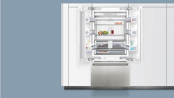 Amerikanischer Kühlschrank Integrierbar : Coolconcept nofrost side by side integrierbar iq ci bp