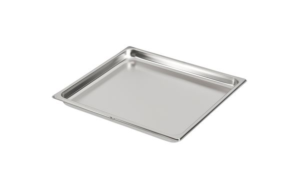 Unperforated Steam Oven Baking Tray
