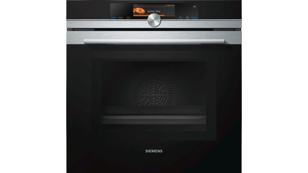 Iq700 60 Cm Built In Stainless Steel Oven With Microwave And Steam Function Hn678g4s1i
