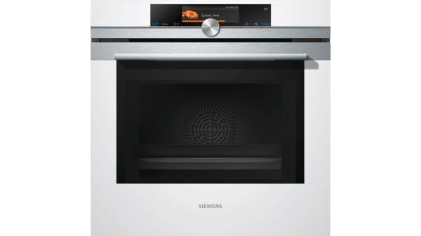 siemens hn678g4w1 einbau backofen mit mikrowellen und. Black Bedroom Furniture Sets. Home Design Ideas