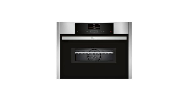 N 90 Four Combi Micro Ondes Encastrable Compact Inox C15ms22n0