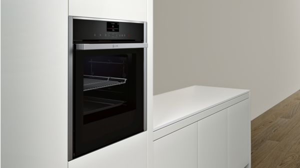N 90 Built-in oven with added steam function Stainless steel B57VS24H0B B57VS24H0B-3