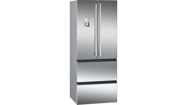 Siemens Kühlschrank French Door : Frenchdoor kühl gefrierkombination no frost türen edelstahl