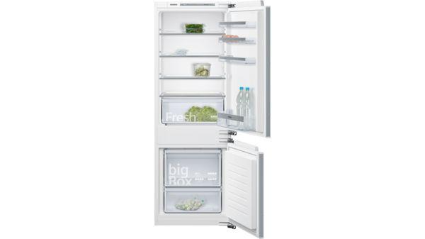 Siemens Kühlschrank Vereist : Smartcool einbau kühl gefrier kombination iq300 ki77vvf30 siemens