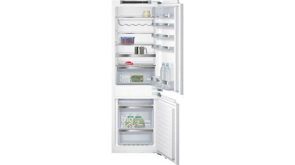 Siemens Kühlschrank No Frost : Smartcool nofrost einbau kühl gefrier kombination iq500