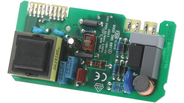 Transformator elektronikplatine trafo