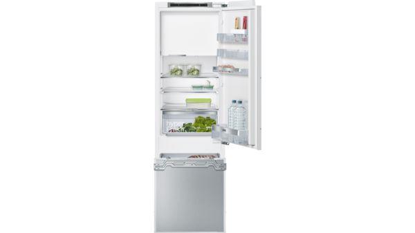 Kühlschrank Mit Kellerfach Bosch : Smartcool einbau kühl gefrier kombination iq500 ki82caf30 siemens