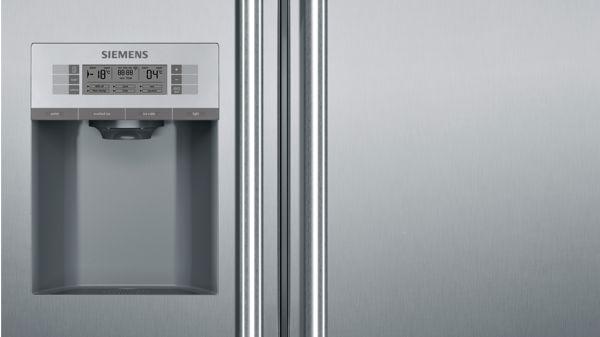 Siemens Kühlschrank Edelstahl : Nofrost kühl gefrierkombination side by side türen edelstahl