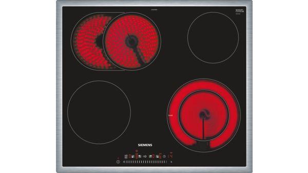 acheter populaire 35ddf aa2bf SIEMENS - ET645FNP1C - Table de cuisson électrique