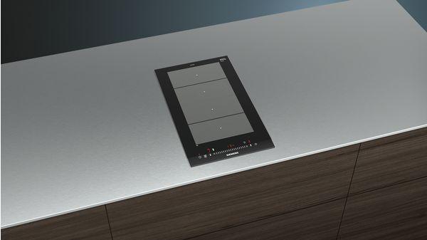 Finitura topClass: profili laterali in acciaio inox Piano cottura ad ...