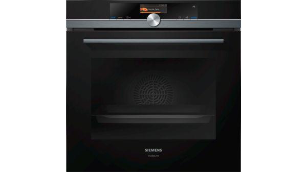 Blacksteel Design Hs836gvb6 Schwarz Iq700 Hs836gvb6 Siemens
