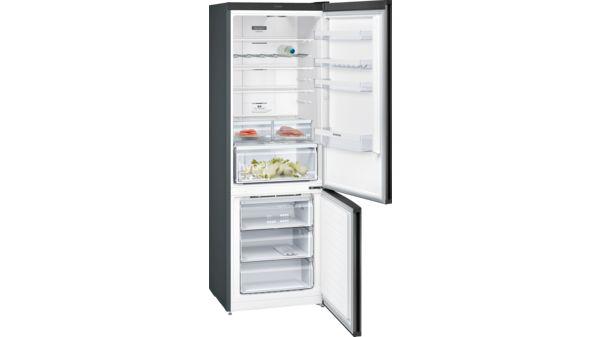 Siemens Kühlschrank Alarm Piept : Nofrost kühl gefrier kombination türen black inox antifingerprint