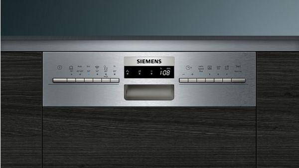 iQ300 Εντοιχιζόμενο πλυντήριο πιάτων με εμφανή μετόπη 45 cm ανοξείδωτο ατσάλι SR536S01IE SR536S01IE-4