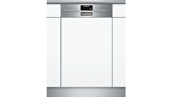 speedmatic lave-vaisselle 45 cm intégrable - inox - iq500