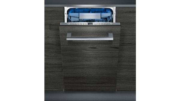 speedmatic45 geschirrsp ler 45 cm vollintegrierbar iq500 sr656x01te siemens. Black Bedroom Furniture Sets. Home Design Ideas