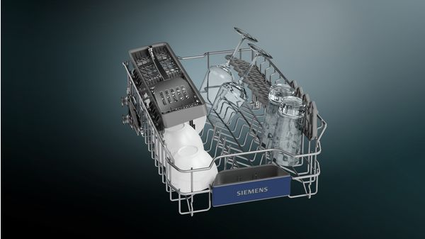 iQ300 Εντοιχιζόμενο πλυντήριο πιάτων με εμφανή μετόπη 45 cm ανοξείδωτο ατσάλι SR536S01IE SR536S01IE-5