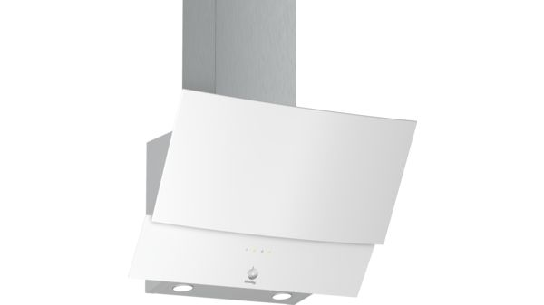 220964485ab Campana decorativa diseño inclinado Serie Cristal Cristal blanco ancho 60  cm EAN: 4242006277468 3BC565GB-