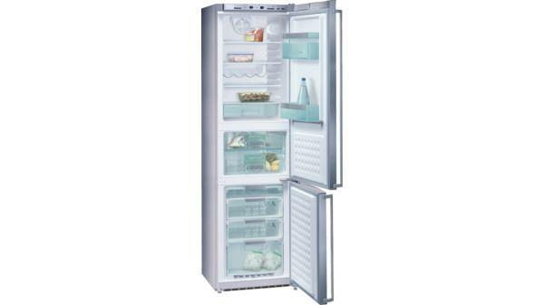 Siemens Kühlschrank Vitafresh : Kühl gefrier kombination vitafresh inoxlook kg f siemens