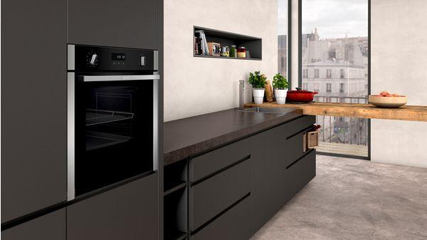 N 50 Built-in oven Stainless steel B6ACH7HN0B B6ACH7HN0B-2