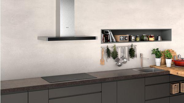 N 50 Wall-mounted cooker hood 90 cm Stainless steel D94BHM1N0B D94BHM1N0B-4
