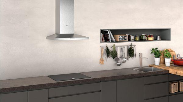 N 30 Wall-mounted cooker hood 60 cm Stainless steel D62QBC0N0B D62QBC0N0B-4
