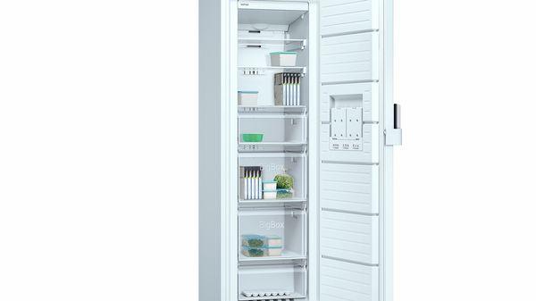 06ebfea7e586 Congelador vertical No-Frost Puerta Color blanco, 186 x 60 cm EAN:  4242006278441