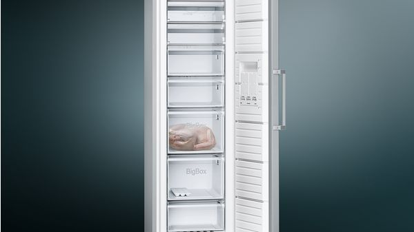 iQ300 Freestanding Freezer 186 x 60 cm GS36NVI30Z GS36NVI30Z-3