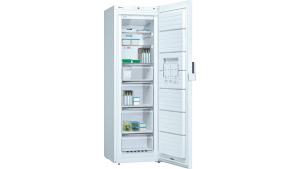 ccb017009ac4 Congelador vertical No-Frost Puerta Color blanco, 186 x 60 cm EAN:  4242006277499