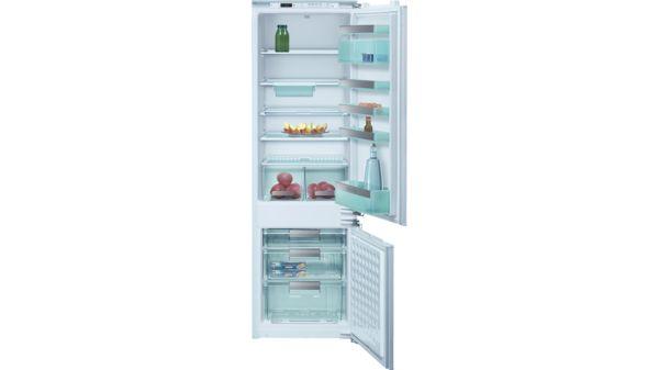 Siemens Kühlschrank Hört Nicht Auf Zu Piepen : Integrierbar flachscharnier einbau kühl gefrier kombination